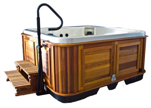 ... Nexstyle Utility Sink And Storage furthermore Hand Rails Hot Tubs. on